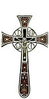 Крест напрестольный №4-1 (коричневый)