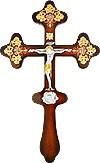 Крест деревянный с Распятием - А605