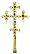 Напрестольный крест №22