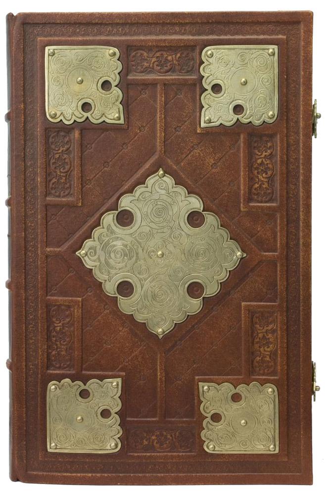 Книга богослужебная в окладе №71-1