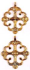 Православный нательный крест №2