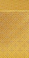 """Парча """"Иерусалимский крест"""" (жёлтая/золото)"""