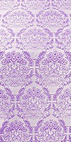 """Шёлк """"Букет"""" (фиолетовый/серебро)"""