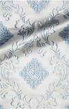 "Парча ""Эгина"" (белая/серебро)"
