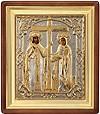 Православная икона: Свв. равноапостольные Император Константин и матерь его Елена - 2