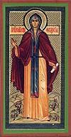 Икона: Преподобномученица Феодосия