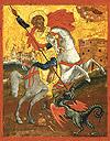 Икона: Св. Великомученик Георгий Победоносец- GP02
