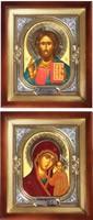 Иконы венчальные, пара №96-98