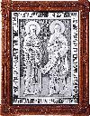 Икона препп. равноап. Кирилла и Мефодия - A104-2
