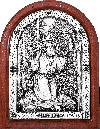 Икона: преп. Серафим Саровский- A116-2