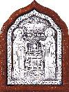 Икона свв. преп. Петра и Февронии Муромских - A67-2