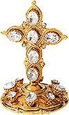 Крест на митру №24 (золочение)