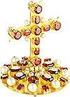 Крест на митру ювелирный - А80 (золочение)