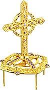 Крест на митру ювелирный - А451 (золочение)