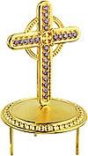 Крест на митру ювелирный - А452 (золочение)