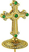 Крест на митру ювелирный - А464 (золочение)