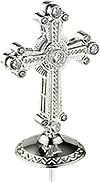 Крест на митру ювелирный - А464 (серебрение)