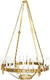 Хорос (с подвесками) 4 секции+доп. центр (32 светильника)