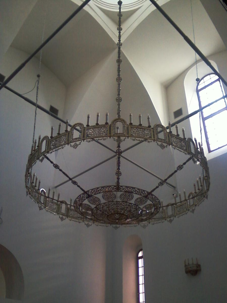 Хорос-обод с чашей (16 частей, 48 светильников)