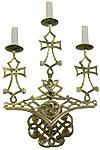 Бра (3 свечи)