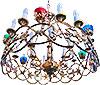 Хорос (паникадило) одноярусный - 16ls (24 свечи)