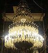 Пятиярусное церковное паникадило (на 216 свечей)