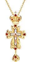 Крест наперсный ювелирный №1