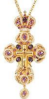 Крест наперсный с украшениями №158