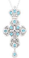 Крест наперсный ювелирный №158