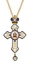 Крест наперсный ювелирный №187