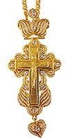 Крест наперсный ювелирный №11-2