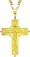 Крест-мощевик наперсный - А67LP (с цепью)