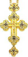 Крест наперсный - А71-2 (с цепью)