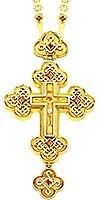 Крест наперсный - А71 (с цепью A52)