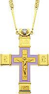 Крест наперсный - А73 (с цепью)