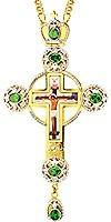 Крест наперсный - А124 (с цепью)