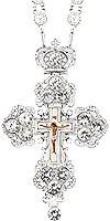 Крест наперсный - А126L (с цепью)