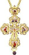 Крест наперсный - А127LP-2 (с цепью)