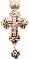 Крест наперсный ювелирный №128