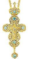 Крест наперсный - А133 (с цепью A1)