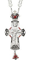 Крест наперсный - А136L (с цепью)