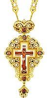 Крест наперсный ювелирный - А149