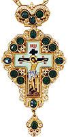 Крест наперсный с украшениями - A150-2