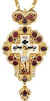 Крест наперсный с украшениями - A150-3