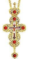 Крест наперсный ювелирный - А151
