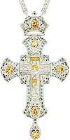 Крест наперсный - А153L (с цепью)