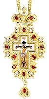Крест наперсный ювелирный - А216