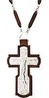 Крест наперсный - А227 (с цепью)