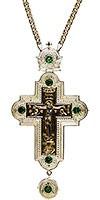 Крест наперсный и цепью №0249