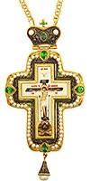 Крест наперсный с украшениями - А278